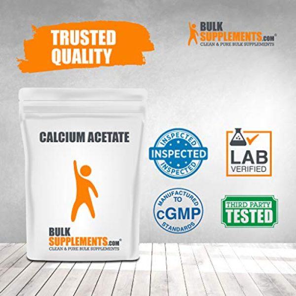 BULKSUPPLEMENTS.COM Calcium Supplement 4 Calcium Acetate (100g)