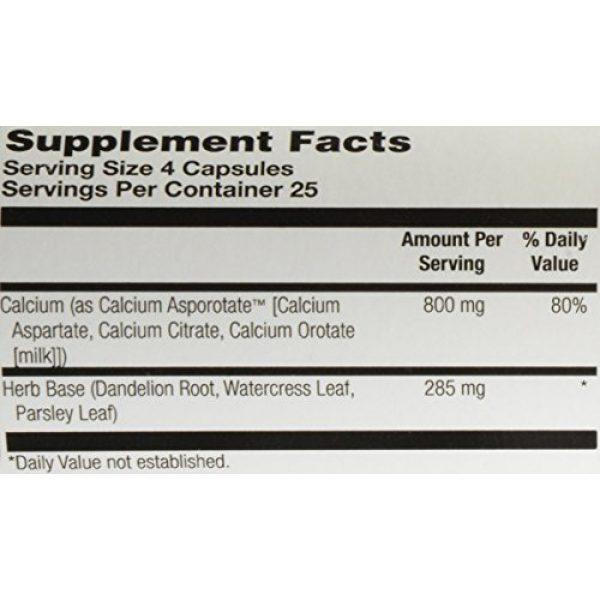 Solaray Calcium Supplement 6 Solaray Calcium Asporotate, Capsule (Btl-Plastic) 800mg   100ct