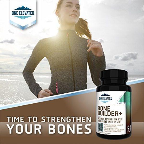One Elevated Calcium Supplement 4 Comprehensive Bone Builder Calcium Supplement. Formulated with Highest Grade Calcium -Carbonate/Hydroxyapatite/Citrate, Magnesium, Zinc, D3. Works in Sync for Optimum Bone Health and Bone Strength.