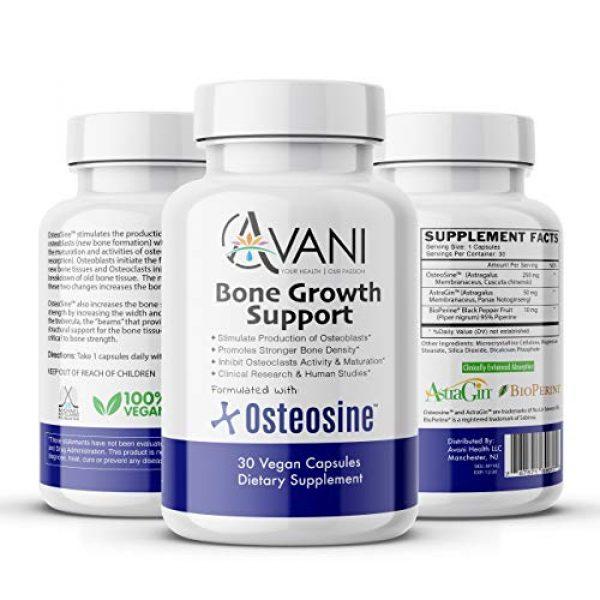 Avani Health Calcium Supplement 4 Avani Health - Osteosine Bone Growth Support - Increase Bone Calcium Levels and Bone Strength - Enhanced Absorption with BioPerine and AstraGin - Gluten Free Bone Supplement - 30 Vegan Capsules