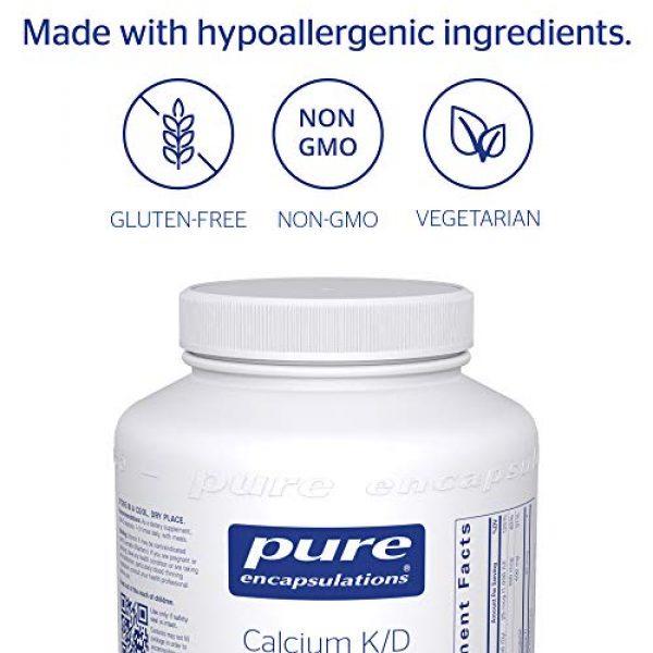 Pure Encapsulations Calcium Supplement 4 Pure Encapsulations Calcium K/D | Supplement for Bone Strength, Immune System, Colon, and Cardiovascular Health* | 180 Capsules