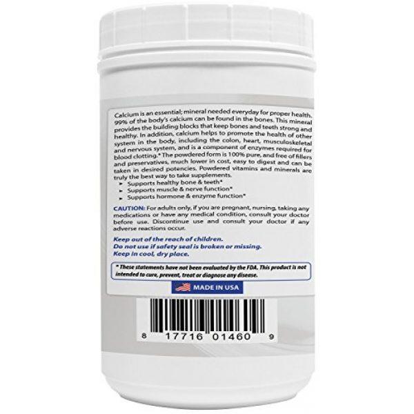 Best Naturals Calcium Supplement 6 2 Pack - Best Naturals Calcium Carbonate Powder 1 Pound (Total 2 Pound) - Food Grade