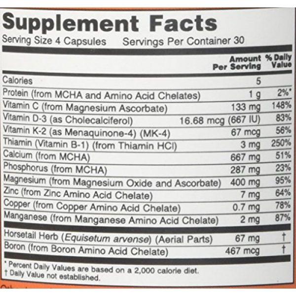 NOW Foods Calcium Supplement 2 Now Foods Bone Strength - 120 Capsules