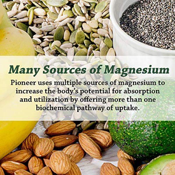 Pioneer Nutritional Formulas Calcium Supplement 4 Pioneer Cal Mag & Vitamin D | Calcium & Magnesium Supplement for Adults | High Absorption | Verified Gluten Free | 120 Vegetarian Capsules