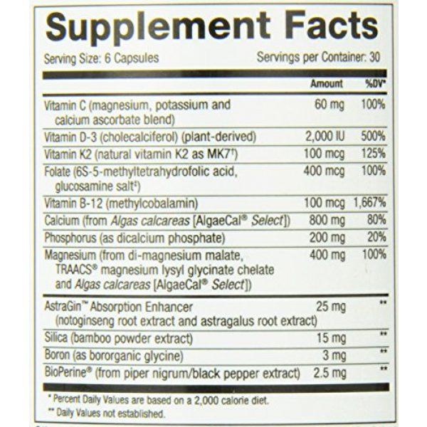 NuMedica Calcium Supplement 5 NuMedica Osteo Vegan Rx 180 Vegetable Capsules
