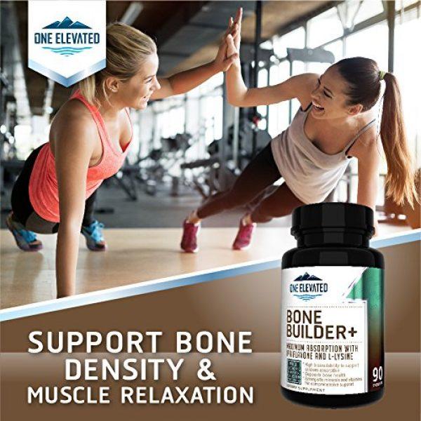 One Elevated Calcium Supplement 5 Comprehensive Bone Builder Calcium Supplement. Formulated with Highest Grade Calcium -Carbonate/Hydroxyapatite/Citrate, Magnesium, Zinc, D3. Works in Sync for Optimum Bone Health and Bone Strength.