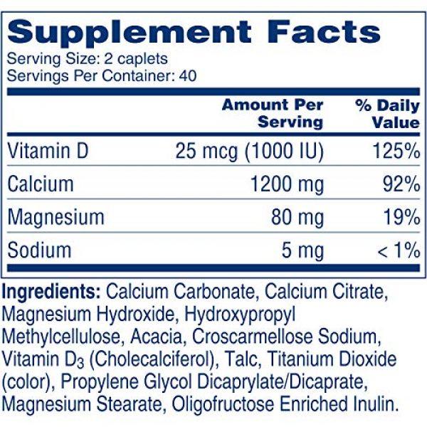 CITRACAL Calcium Supplement 6 Citracal Calcium + D SLW Size 80ct Citrical Calcium + D 80ct