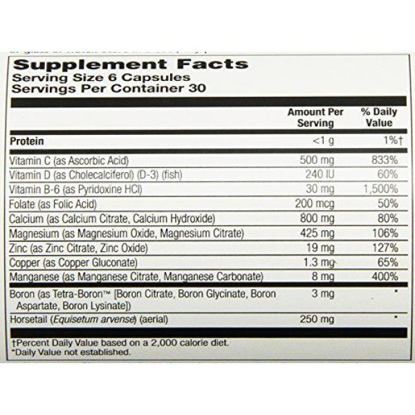 Solaray Calcium Supplement 6 Solaray Calcium Citrate Supreme Capsules, 800mg, 180 Count