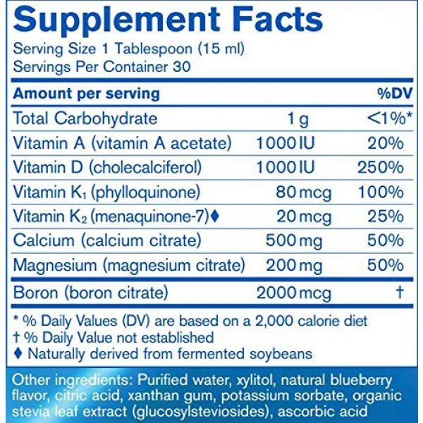 Pharmax Calcium Supplement 4 Pharmax - Cal : Mag Berry Liquid + - Comprehensive Bone Support Formula - 15.2 fl. oz. - Natural Blueberry Flavor