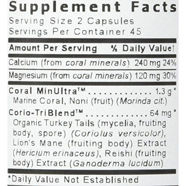 Premier Research Labs Calcium Supplement 3 Coral Legend Plus, 90 Capsules - pH Support Formula for Whole Body Mineral Support, Including the Bones, Joints, Teeth and an Alkaline pH(packaging may vary)
