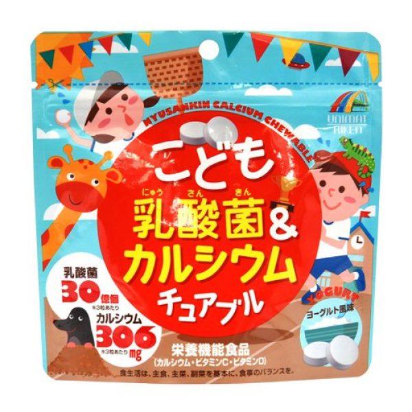 Unimat RIKEN Calcium Supplement 1 Unimatt Riken Children Lactobacillus calcium chewable 90 grains