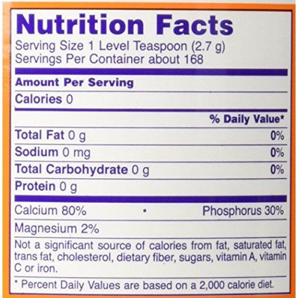 NOW Foods Calcium Supplement 2 NOW Foods, Bone Meal Powder, 1 lb. (454 g)